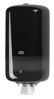558008 Tork műanyag mini belsőmag adagolású adagoló, fekete (M1 rendszer)