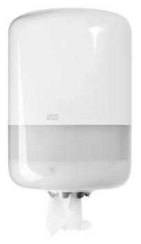 559000 Tork műanyag belsőmag adagolású adagoló, fehér (M2 rendszer)