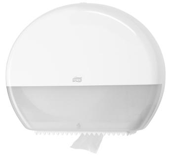 554000 Tork műanyag Jumbo toalettpapír adagoló, fehér (T1 rendszer)