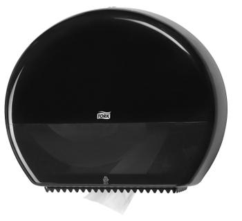 554008 Tork műanyag Jumbo toalettpapír adagoló, fekete (T1 rendszer)