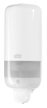 560000 Tork műanyag folyékonyszappan adagoló, fehér (S1 rendszer)