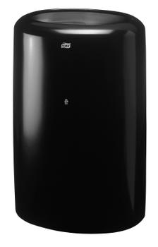 563008 Tork műanyag hulladékgyűjtő, 50 literes, fekete (B1 rendszer)