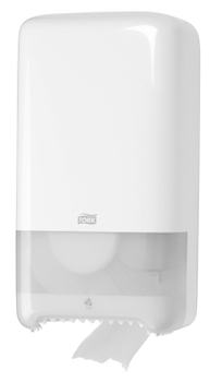 557500 Tork műanyag toalettpapír adagoló, fehér (T6 rendszer)