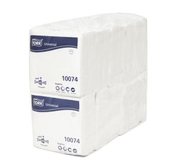 10074 Tork fehér Lunch szalvéta