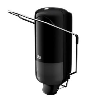 560108 Tork műanyag folyékonyszappan adagoló könyökkarral, fekete (S1 rendszer)