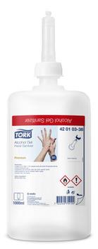 420103 Tork Premium alkoholos kézfertőtlenítő gél (S1 rendszer)