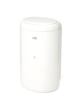564000 Tork műanyag mini hulladékgyűjtő, 5 literes, fehér (B3 rendszer)