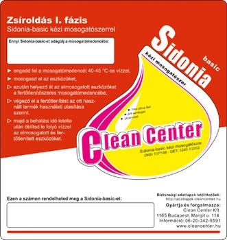 Sidonia-basic I. fázis kísérőmatrica