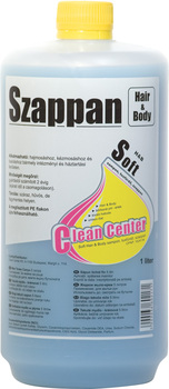 Soft hair&body sampon, tusfürdő szappan 1 liter