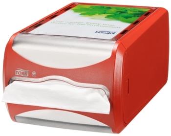 272512 Tork Xpressnap pultra tehető szalvétaadagoló, piros (N4 rendszer)