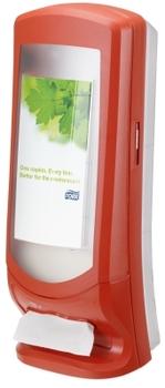 272212 Tork Xpressnap nagy kapacitású szalvétaadagoló, piros (N4 rendszer)