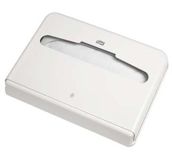 344080 Tork műanyag WC ülőketakaró tartó, fehér (V1 rendszer)