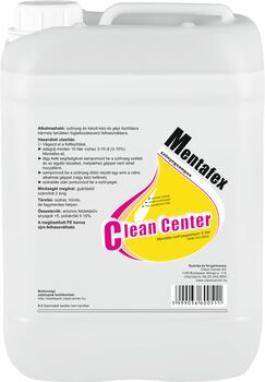 Mentafex szőnyegsampon 5 liter