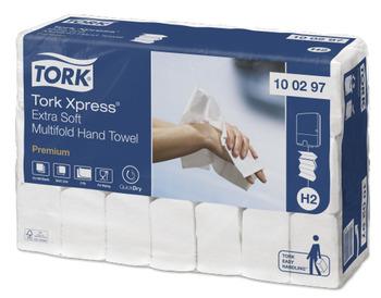100297 Tork Xpress Extra Soft Multifold kéztörlő (H2 rendszer)