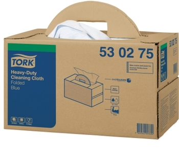 530275 Tork Premium Multipurpose Cloth 530 Handy Box kék