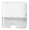 552100 Tork műanyag mini adagoló Interfolded hajtogatású kéztörlőkhöz, fehér (H2 rendszer)