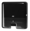 552108 Tork műanyag mini adagoló Interfolded hajtogatású kéztörlőkhöz, fekete (H2 rendszer)
