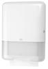 553000 Tork műanyag Z és C hajtogatású kéztörlő adagoló, fehér (H3 rendszer)
