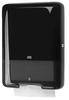 553008 Tork műanyag Z és C hajtogatású kéztörlő adagoló, fekete (H3 rendszer)