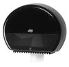 555008 Tork műanyag mini Jumbo toalettpapír adagoló, fekete (T2 rendszer)