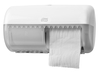 557000 Tork műanyag kistekercses toalettpapír adagoló, fehér (T4 rendszer)