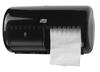 557008 Tork műanyag kistekercses toalettpapír adagoló, fekete (T4 rendszer)
