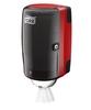 658008 Tork műanyag mini belsőmag adagolású adagoló, piros-fekete (M1 rendszer)