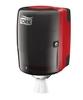 659008 Tork műanyag belsőmag adagolású adagoló, piros-fekete (M2 rendszer)